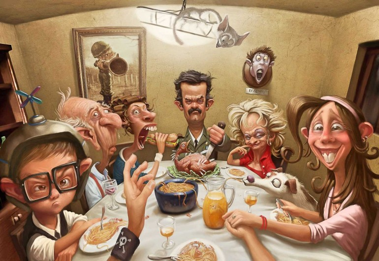 Novas cenas familiares