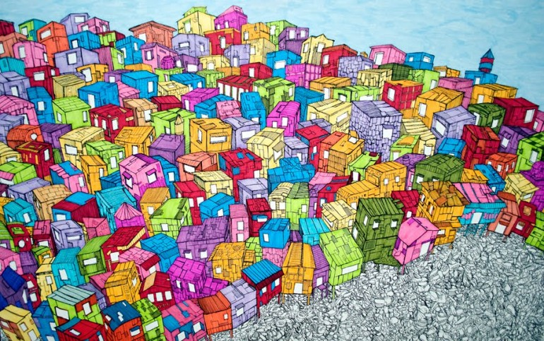Áudio crônica visitando a favela da Rocinha